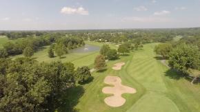 st louis drone services aerial lake st louis golf course